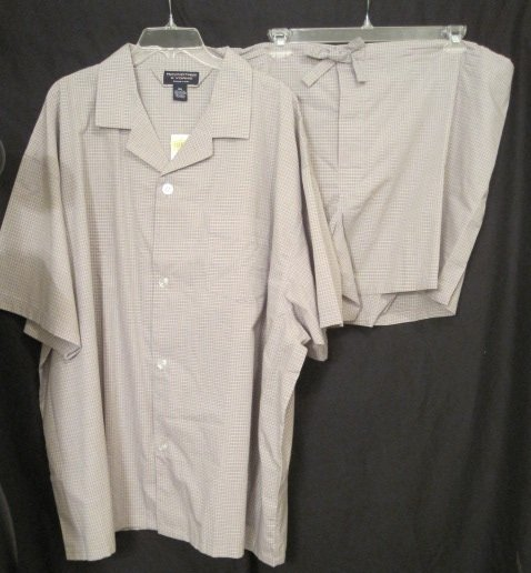 New Size 4xl Sleepwear Pajamas 2 Piece Big Tall Men S