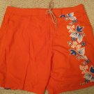 New Orange Board SwimSuit Shorts Size 48 Big Tall Mens Clothing 926211
