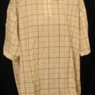 New S/S Roundtree & Yorke Pull Over Shirt Size 3XLT 3XT Big Tall Men's Clothing 923421
