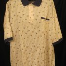 New Roundtree & Yorke S/S Pull Over Banded Shirt Size 3XL 3X 3XB Big Men's Clothing 923411