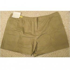 New Khaki Tan Shorts Size 4X 4XB 48 Draw String Waist Big Tall Mens Clothing 927491 2