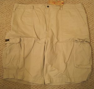 Ralph Lauren Polo Jeans Company Freighter Cargo Shorts Size 50 Big Tall Mens Clothing 927681 3