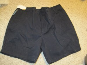 NEW Navy Blue Shorts Oak Creek Size 44 Big Tall Mens Clothing 925161