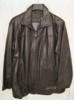 Roundtree And Yorke Leather Jacket
