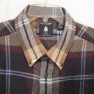 Flannel Button Down Shirt Long Sleeve 2X 2XB 2XL Big Tall Mens Clothing 938661