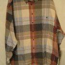 Flannel Button Down Shirt Long Sleeve 2X 2XL Big Tall Mens Clothing 938501 2