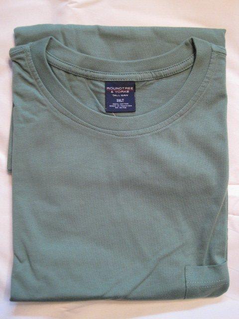 NEW Grassroot Green Pocket T-Shirt Short Sleeve Size 3XLT 3XT Big Tall Men's Clothing  925571 2