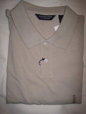 Tan Polo Golf Shirt S/S Pocket Size 5X Big Mens Clothing 925421