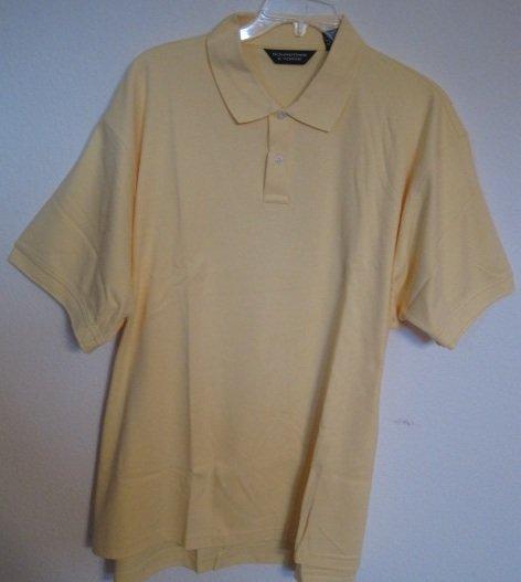 New Golden Haze Polo Golf Shirt S/S Size 4XT 4XLT Big Tall Mens Clothing 925391