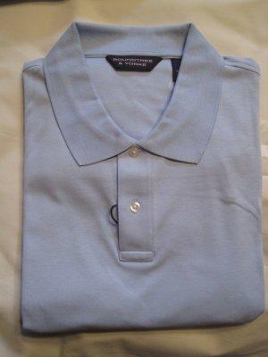 New Cerulean Blue Polo Golf Shirt S/S Size 3X 3XL Big Tall Mens Clothing 925511 2