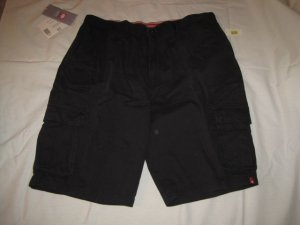 New Black ECKO Freighter Cargo Shorts Size 44 Big Tall Mens Clothing 939491 3
