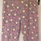 New Black White Fruity Capri Crop Pants Size 1x 18 20  Plus Size Women Clothing 490021-2