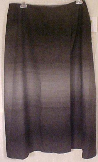 Liz Clairborne Wrap Around Gray Skirt Plus Size 20W 20 Plus Size Women Clothing 400141-2