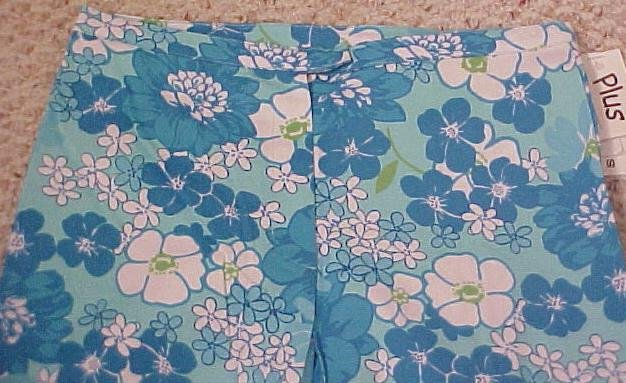 New Aqua Capri Pants Girls Plus Size 16.5 16+ Girls Plus Size 400271