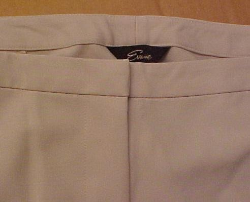 New Emme Almond Pants 14W 14 Plus Size Women Clothing 400791