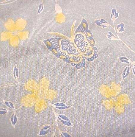 NEW Emma James Skirt Light Blue Flowers Butterflies 16W 16 Plus Size Womens Clothing 811321