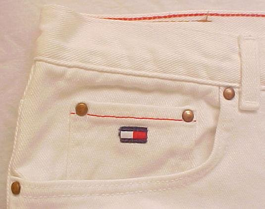 New Tommy Hilfiger White Jeans Pants Plus Size 14 14W Plus Size Women Clothing 200691