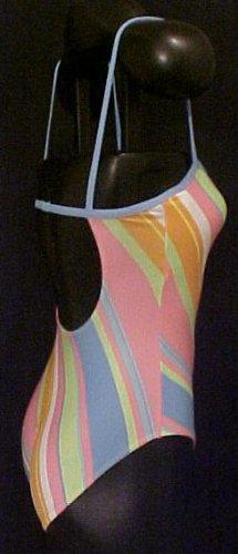 New Size 6 Ralph Lauren One piece Swimsuit Bathing Suit Swim 1 pc 200601