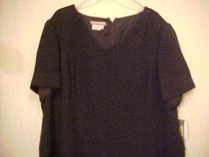 New Maggie London Black Womens Dress size 24WP Plus Size Petite 402601