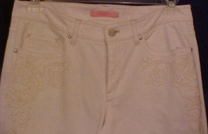 NEW Gianni Bini White Stretch Jeans Size 30 Waist Fashions For Her 201261