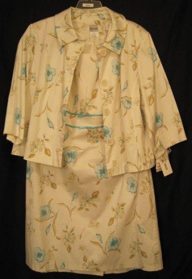 New 2pc Suit Dress Jacket Size 22W Womens Plus Size 202041