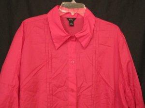 New Emme Secret Garden Blouse Size 2 18/20 Plus Size Women Clothing 200151