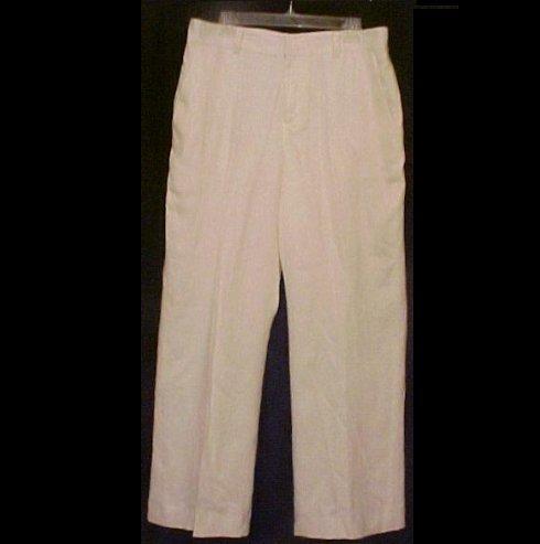 New Ralph Lauren Linen Pearl Pants Size 16 Misses Clothing 200901