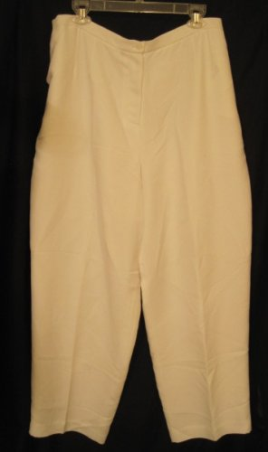 New White Due per Due Pants Size 22 Plus Size Women's Clothing 202251