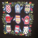 New Pull Over Long Sleeve Shirt  Black Christmas Snowmen Size 1X Plus Size Women Clothing 400641