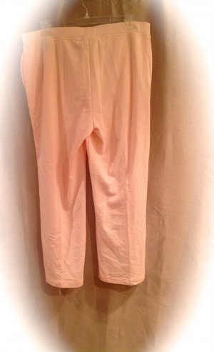 NEW Ralph Lauren Size 2X Cotton Peach Sweat Pants  Womens Plus Size Fashions For Her 010