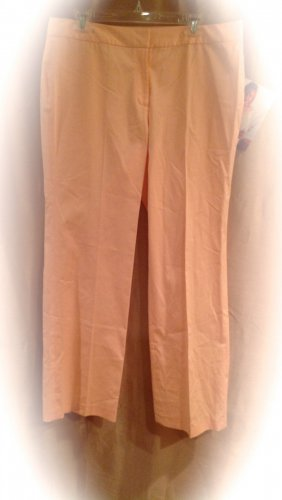 NEW Reba Size 16 Peach Dress Pants  Fashions For Her 003
