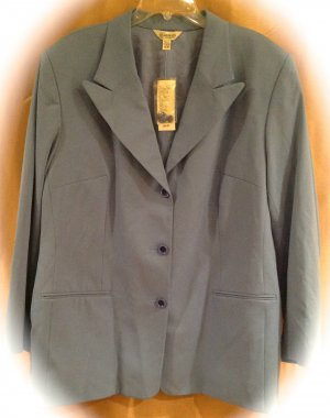 New Austin Reed Size 18w Women S Blue Blazer Plus Size Women Clothing 017