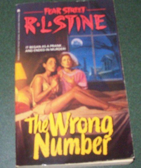 R.L. Stine Fear Street The Wrong Number