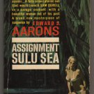 Assignment Sulu Sea Edward S Aarons K1497 Gold Medal Sam Durell suspense GGA pb  s1639