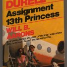 Assignment 13th Princess Edward S Aarons Gold Medal Sam Durell suspense  pb  s1640
