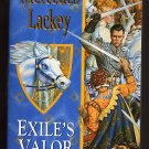 Exile's Valor - A Novel of Valdemar - Mercedes Lackey PB First Edition, First Printing  s1821