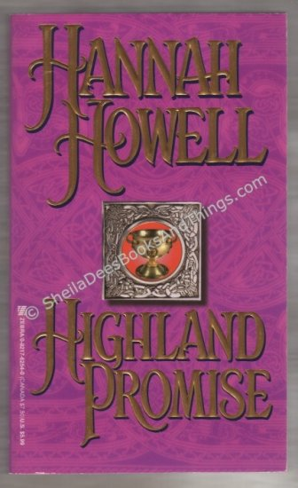Highland Promise by Hannah Howell - First Edition First Printing   s1566