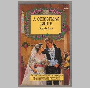 A Christmas Bride  by Brenda Hiatt - Harlequin Regency Romance, No 112  s1969