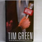 American Outrage by Tim Green First Edition, First Printing HC - DJ mystery thriller h1229
