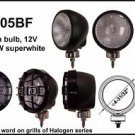 "4"" Black Round 100W Super White Flood Light"