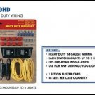 Heavy Duty Wiring Kits for 4 lights 3210HD