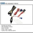 Pre-Assembled Wiring Kits for 2 Lights 320D