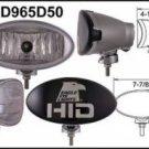 "Eagle Eye Silver 8"" HID Oval Driving 50W Light"