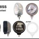 "6"" Slim Round Stainless Steel 35W HID Spot Light"