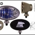 "6"" Silver Oval 100W Super White Driving Lights Set by Eagle Eye Lights"