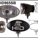 """Eagle Eye  8"""" Black Oval HID 35W Spot Light"""