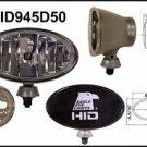 "Eagle Eye  6"" Silver Oval HID 50W Driving Light"