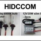 2011 Can AM Commander 35W HID Headlight Conversion Kit