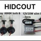 09-10 Can AM Outlander HID Headlight Conversion Kit