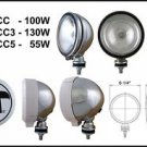 "Eagle Eye 6"" Chrome Round 130W Offroad Spot Light"